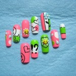Funny and Cute Nail Art