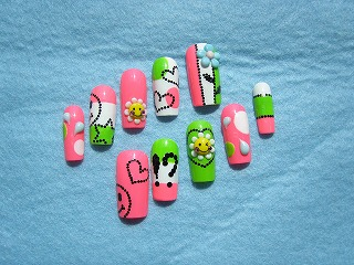 cute-nail-art-design