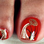 Easy & Simple Nail Art For Toes