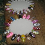 Nail Art Design Wheel