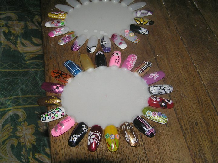 Nail Art Design Wheel |
